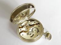 Antique Silver Phoenix Indestructible Pocket Watch (3 of 5)
