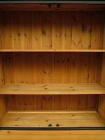Black Painted Pine Apothecary Cabinet Style Dresser with Multi Drawer Base (9 of 18)
