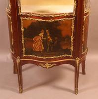 Good Quality French Serpentine Front Display Cabinet (4 of 11)