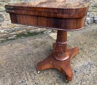 Regency Rosewood Card Table (2 of 24)