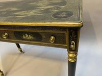 Victorian Chinoiserie Writing Table (2 of 10)
