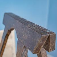 Pine & Oak Trestle Table (10 of 10)