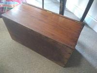 19th Century Mahogany Deed Box (4 of 6)