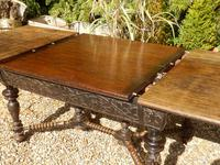 Oak Victorian Extending Dining Table (6 of 7)