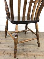 Victorian Ash & Elm Windsor Armchair (11 of 14)