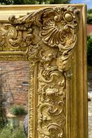 Early 19th Century Large Gilt Mirror (6 of 10)