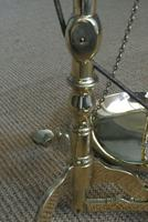 Fine Large 19th Century Brass Beam Scales Jewellers Gold Bank Scales Doyle & Son (8 of 12)