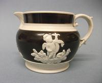 Small Chetham & Woolley Stoneware Jug, c.1800-1815 (3 of 5)