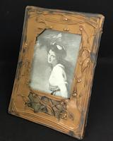Art Nouveau Celluloid Easel Photo Frame (2 of 5)