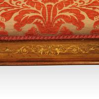 Edwardian inlaid piano stool (4 of 7)