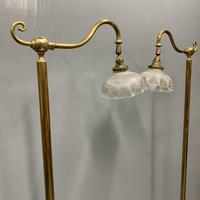 Pair of Adjustable Brass Standard Lamps (2 of 7)