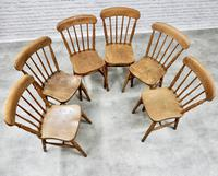 Set of 6 Stickback Windsor Kitchen / Dining Chairs (4 of 6)