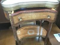 Onyx and Galleried Top Side Table (2 of 2)