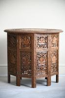 Carved Indian Side Table (6 of 12)