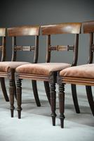 6 Mahogany Bar Back Dining Chair (5 of 8)