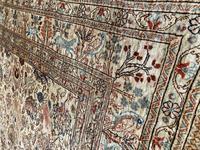 Vintage Anatolian Kayseri Silk Rug 2.22m x 1.51m (5 of 17)