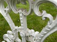 Victorian 19th Century Garden Cast Iron 6 Branch Plant Stand Coalbrookdale Style (26 of 27)