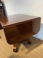 George IV Rosewood Pedestal Sofa Table (9 of 14)