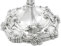 Sterling Silver Candlesticks by Robert Garrard II - Antique George IV 1829 (9 of 18)