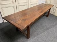 Long French Oak Farmhouse Dining Table (13 of 17)