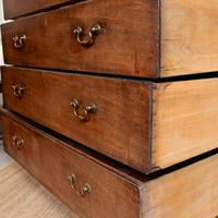 Georgian Chest of Drawers Mahogany Country Tallboy George IV (10 of 11)