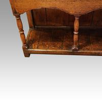 Georgian Oak Inlaid Dresser Base (8 of 11)