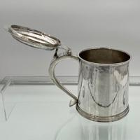 17th Century Antique Charles II Silver Tankard & Cover London 1683 Nathaniel Weekley (4 of 12)