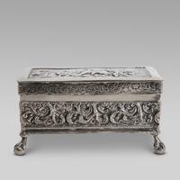 19thC Dutch Napoleonic battle scene silver box (4 of 4)