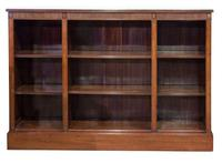 Mahogany Open Bookcase c.1900 (3 of 6)