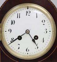 French Belle Epoque Mahogany Mantel Clock - 1900 (3 of 8)