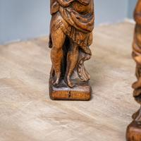 Pair of Bird & Lute Carved Figures (8 of 9)