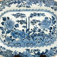 Pair of 18th Century Qianlong Dishes (4 of 8)