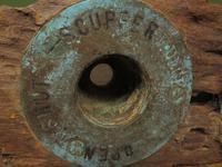 Antique Maritime Ship Deadeye Rigging Blocks & Scupper Ports, Old Wreck Salvage (10 of 13)