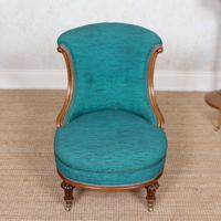 Tub Chair 19th Century Carved Mahogany (2 of 8)