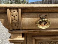 Wonderful Art Nouveau Bleached Oak Sideboard (11 of 26)