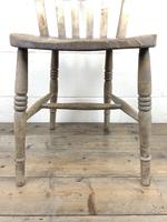 Set of Four Antique Farmhouse Kitchen Chairs (12 of 15)