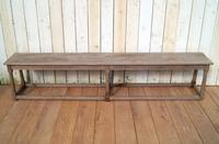 19th Century Pine Benches (3 of 10)