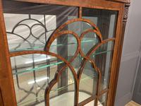 Inlaid Mahogany Display Cabinet by Jas Shoolbred (6 of 14)