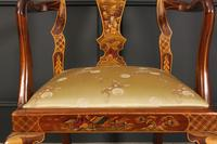 Pair of Chinoiserie Japanned Armchairs (2 of 16)