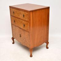 Antique Burr Walnut  Chest on Cabinet (10 of 12)
