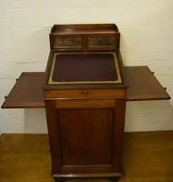 Victorian Mahogany Davenport attributed to Gillow (12 of 12)