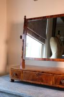 19th Century Mahogany Dressing Table Mirror with Three Drawers (8 of 21)