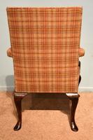 George I Style Walnut Gainsborough Armchair (8 of 8)