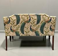 Newly Upholstered Window Seat & Stool (4 of 6)