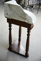 Antique Marble Corner Washstand (13 of 13)