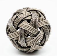 Stainless Steel Wire Sphere by Dail Benhenna (2 of 4)
