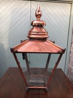 Antique Copper Glazed Lantern (2 of 8)