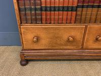 Oak Open Bookcase c.1920 (5 of 12)