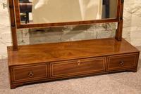 Large George III Manhogany Dressing Mirror (2 of 6)