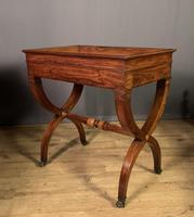 Stunning French Charles X Walnut Library Writing Table (12 of 16)